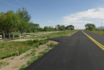 Abregadero Road Completed Mid-Section