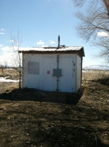 Existing Well House