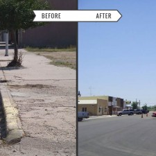 Town of Holly – Before & After