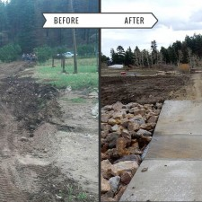 Huerfano County Road and Bridge - Before & After