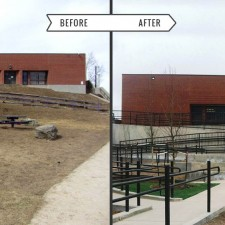 Rye Elementary School - Before & After