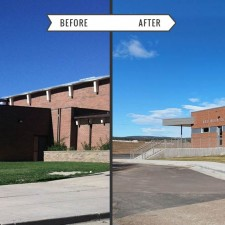 Rye High School - Before & After